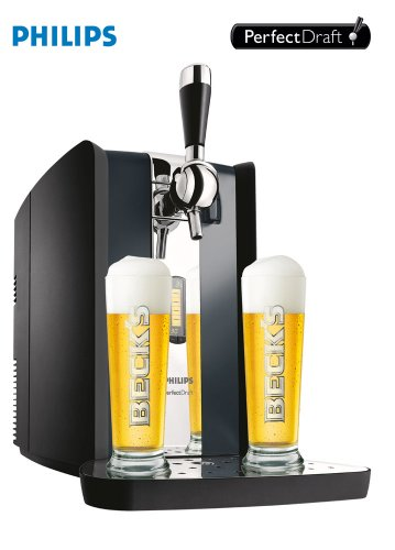 Philips HD3620/20 Perfect Draft Bierzapfanlage / schwarz - 2